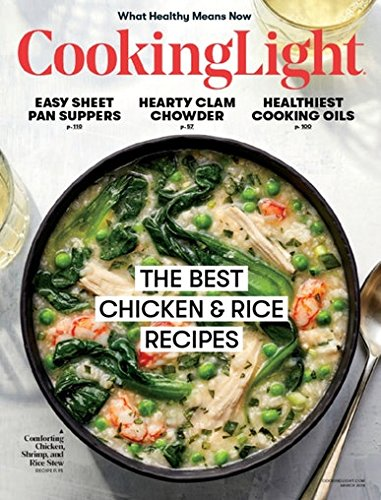 Cooking Light Magazine - March 2018 -