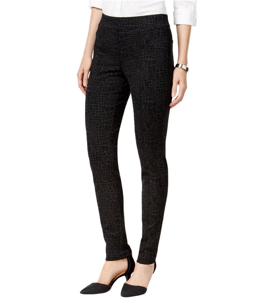 Style & Co. Womens Ponte Casual Leggings Black PS/25 - Petite