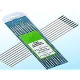 10 pcs of 1/8″ 7″(3.2175mm),Green WP,Pure Tungsten Welding & TIG Electrodes (ETA:7-12 WORK DAYS)
