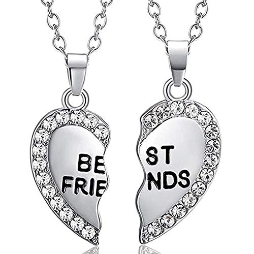 ODETOJOY Best Friends Necklace for 2 BFF