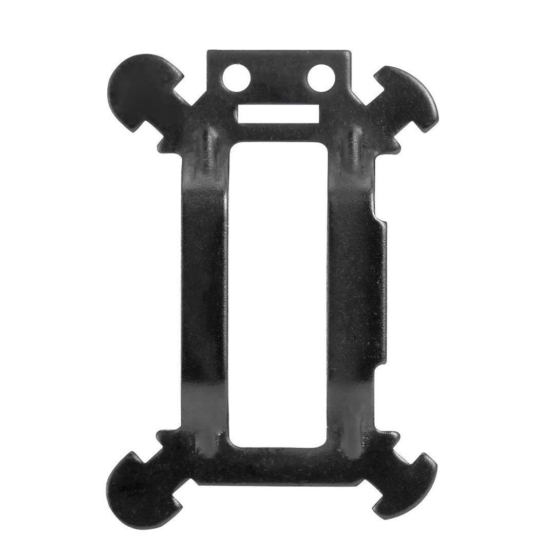 dauerhafte Aluminium Sto/ßd/ämpfer Komponenten Gimbal Vibrationsplatte Bord Gimbal D/ämpfungsbrett f/ür DJI Mavic Pro Gimbal Vibrationsplatte Bord