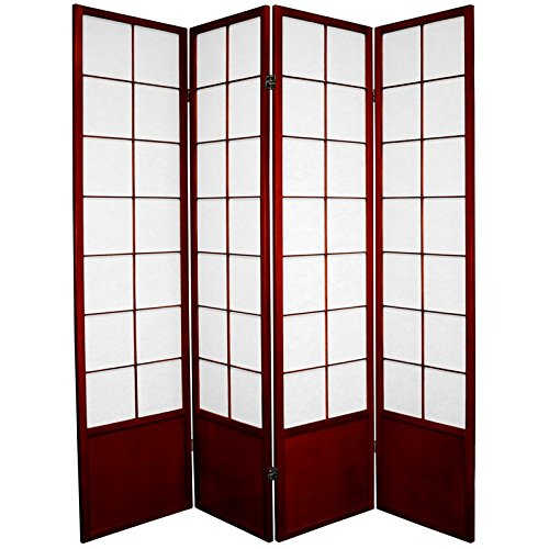 Amazoncom Oriental Furniture 6 ft Tall Zen Shoji Screen