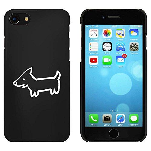 Noir 'Chiot Mignon' étui / housse pour iPhone 7 (MC00086952)