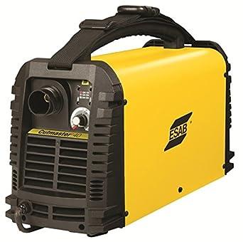 ESAB Cutmaster 40 - Cortador de plasma con linterna SL60 de 6 m: Amazon.es: Industria, empresas y ciencia