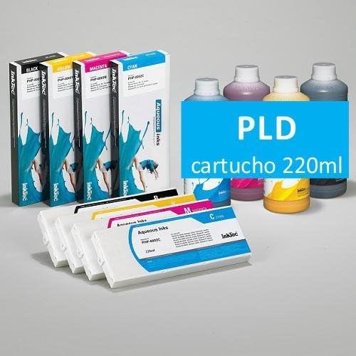 InkTec Cartucho 220ml Tinta Dye Cián para plóters piezo: Amazon.es: Electrónica
