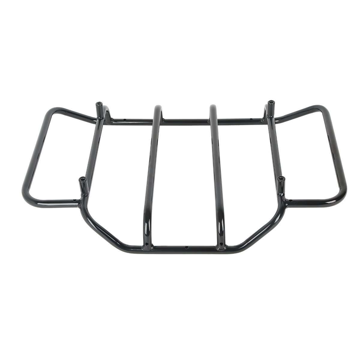 XFMT Tour Pak Luggage Rack Compatible with Harley Touring Road King Street Glide Classic 1984-2019 Chopped and Razor-Pak Tour-Pak Carrier Lids