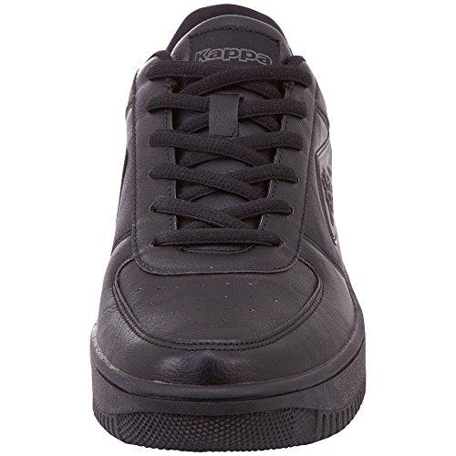 Black Kappa Trainers Unisex Adults' Bash 1116 Grey Black 1116 Black FFq1vn