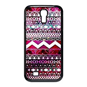 Aztec Tribal Pattern Personalized Cover Case for SamSung Galaxy S4 I9500,customized phone case ygtg536391