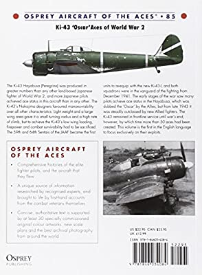 Ki-43 Oscar Aces of World War 2 (Aircraft of the Aces)