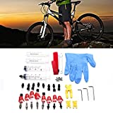 Estink rake Bleed Kit,Bicycle Bike Hydraulic Disc Brake Mineral Oil Bleed Kit Tools For SHIMANO TEKTRO MAGURA Louise Marta