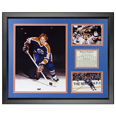 "Legends Never Die Wayne Gretzky - Oilers Framed Photo Collage, 16"" x 20"" by Legends Never Die"