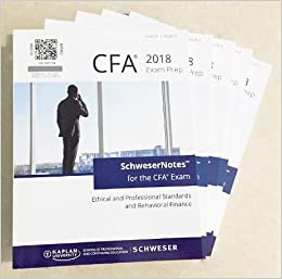 2018 CFA Level 2 Kaplan Schweser: Books 1-5, Practice Exam