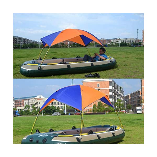 Mexidi Inflatable Kayak Awning Canopy, 2/3/4 Person