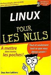 LINUX POCHE POUR LES NULS 8ED