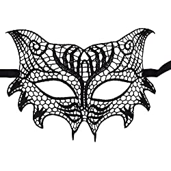 Bonnie Z. Leonardo Lace Masquerade Mask Masquerade Masks for Women Wolf Mask-2