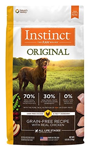 Instinct Original Grain Free Chicken Meal Formula Natural Dry Dog Food