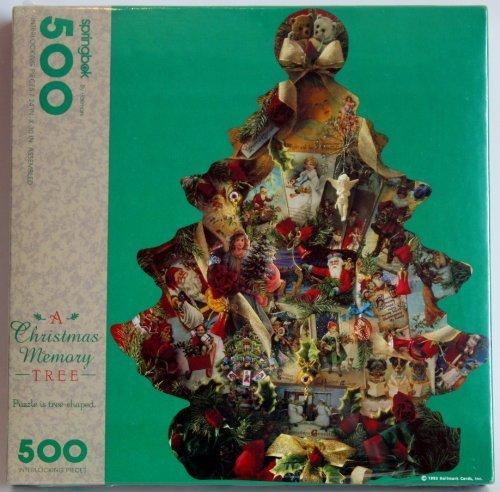 tienda de bajo costo Springbok A Christmas Tree Memory Memory Memory 500 Piece Puzzle by Springbok  ahorra hasta un 30-50% de descuento