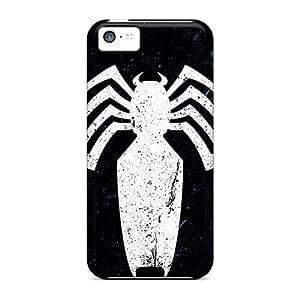 LJF phone case Brand New 5c Defender Case For Iphone (venom Logo)