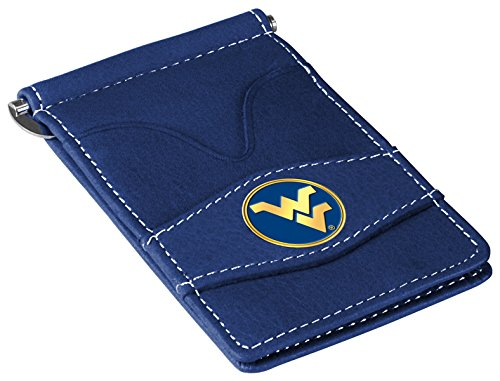 (NCAA West Virginia Mountaineers Players Wallet - Navy)