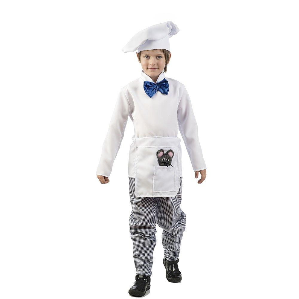 Limit COSTUMES MI110 3  Cociblack Chef Costume, Size 3