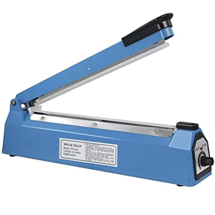 Buy DUA Exports Blue PB Plastic Bag Heat Sealing Machine (12 Inches) Online  at Low Prices in India - Amazon.in
