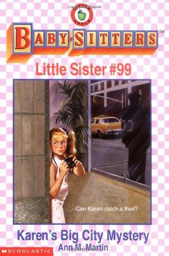 Karen's Big City Mystery (Baby-Sitters Little Sister, No. 99)