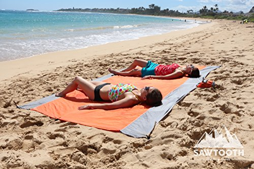 Double Hammock – Multifunctional as a Picnic Blanket or Sun Shade. Lightweight Parachute Nylon Hammock with Tree Straps Suspension System and Carabiners Included.(Blue)