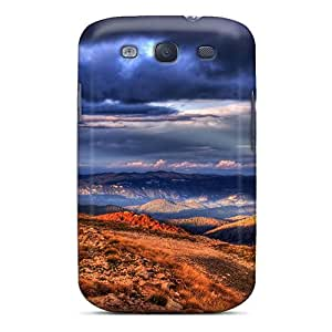 Premium [sXF23849gQvQ]beautiful Sky Valley Hdr Cases For Galaxy S3- Eco-friendly Packaging