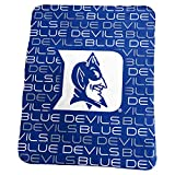 Logo Brands NCAA Duke Blue Devils Classic Fleece, One Size, Royal