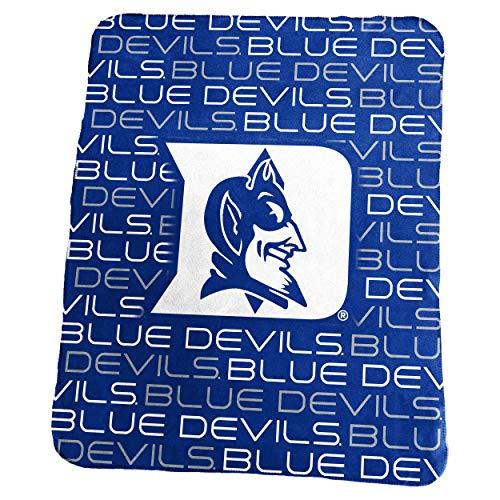 Logo Brands NCAA Duke Blue Devils Classic Fleece, One Size, -