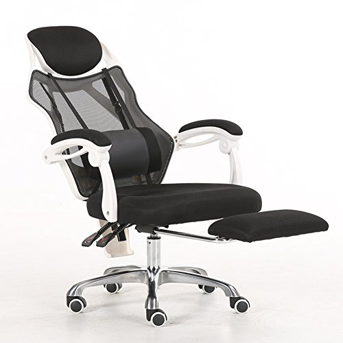 High Back Swivel Office Chair with Footrest,Mesh