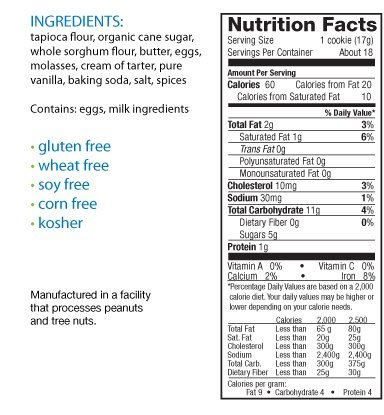 Aleia's Gluten Free Ginger Snaps Cookies 9-ounce (Pack of 2)