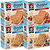 Deals on 4Pk Quaker Baked Flats Blueberry Nut & Cranberry Almond 5-3 Bar