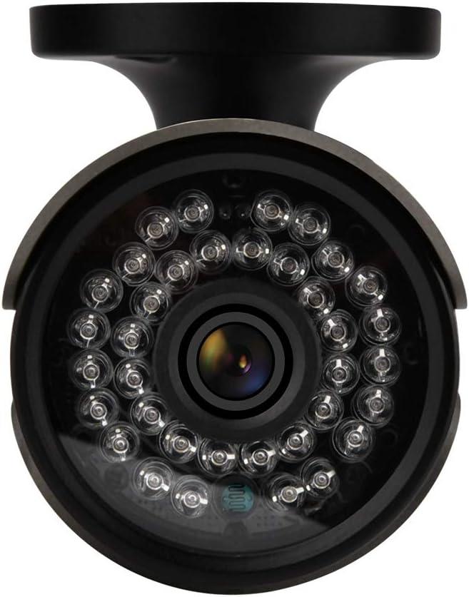 5MP C/ámara de Seguridad para Exteriores 5MP PAL-System Soporte AHD TVI CVI CVBS HD Impermeable C/ámara Tipo Bala de Vigilancia 4 en 1 con Distancia de Visi/ón Nocturna de 35m