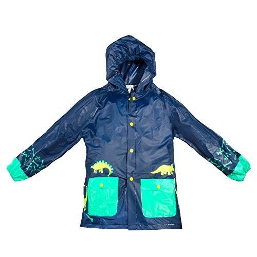 Lilly of New York Boy & Girl Rain Jackets, Hooded Raincoat, Pockets, Fun Prints by Lilly of New York