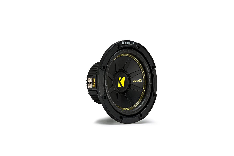 Kicker CWCD84 CompC 8'' Subwoofer Dual Voice Coil 4-Ohm