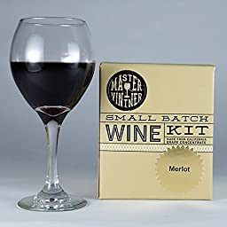 Master Vintner Small Batch 1 Gallon Merlot Wine Recipe Kit
