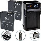 nikon s9100 battery charger - BM Premium 2-Pack of EN-EL12 Batteries & Battery Charger Kit for Nikon Coolpix A900, AW100, AW110, AW120, AW130, S31, S800C, S6100, S6200, S6300, S8100, S8200, S9050, S9100, S9200, S9300, S9400, S9500, S9700, S9900, P300, P310, P330, P340, S1100PJ, S1200PJ Digital Camera