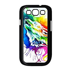 Wolf Totem Art Pictures PC Hard Plastic phone Case Cover For Samsung Galaxy S3 ZDI016477