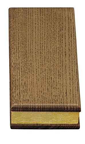 京仏壇はやし 過去帳 唐木モダン( タモ ) 4.5寸 日付入り ◆縦 約13.5cm 横 約5.5cm 厚み 約2.5cm B00OL4ZMJ0 4.5寸|タモ タモ 4.5寸
