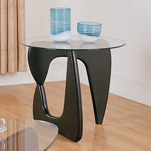 Homelegance Chorus End Table in Black (Homelegance Contemporary End Table)