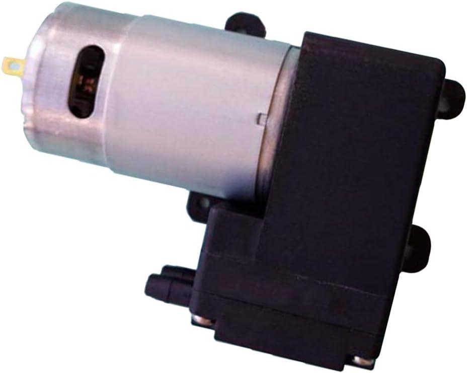 kesoto 12V// 24V Vakuumpumpe Membranpumpe Mini Luftkompressor mit Gauge f/ür Auto Reifenf/üller 80KPA 13L//min 2.5bar 12W
