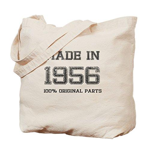 CafePress fabricado en 1956100% piezas originales–Gamuza de bolsa de lona bolsa, bolsa de la compra Small caqui