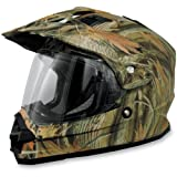 AFX FX-39 Unisex-Adult Full-Face-Helmet-Style Dual Sport Helmet (Wood Camo, X-Small)