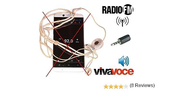 AntJack antena de radio FM para Smartphone simulador e 3,5 mm ...