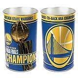 WinCraft Golden State Warriors 2018 NBA Finals Champions Trophy Wastebasket Trash Can