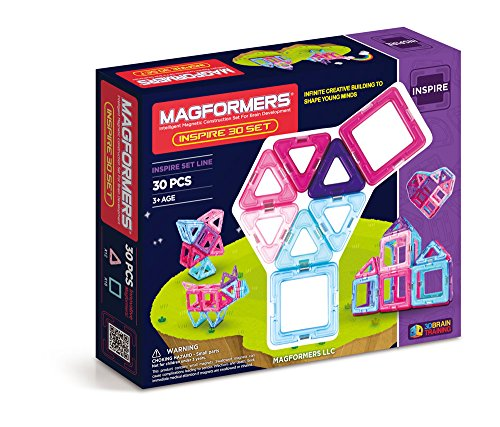 Magformers Inspire Set (30-pieces) (Bookshelf Stacking Stars)