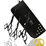 New Arrival 2017 – Thumb Swivel Professional Razor Edge Series – Barber Hair Cutting and Thinning Scissors/Shears Sets 6.5″ Professional Barber/Salon Japanese Steel Scissors + Accessories Review