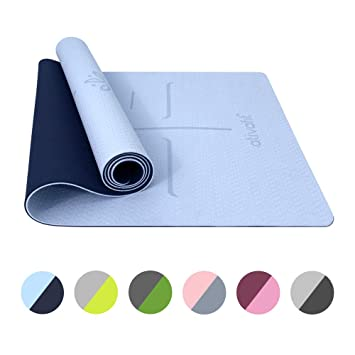 Amazon.com: ATIVAFIT mat TPE (Blue): Sports & Outdoors