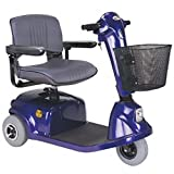 CTM - HS-320 - Mid-Range Travel Scooter - 3-Wheel - Blue